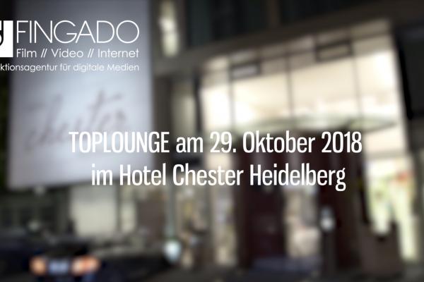 TopLounge - Hotel Chester Heidelberg - Oktober 2018