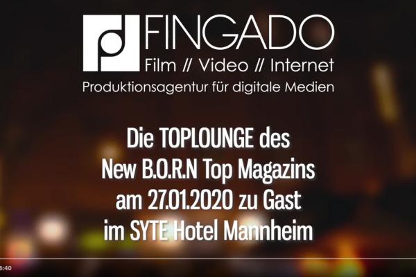 TopLounge - SYTE Hotel Mannheim - Januar 2020